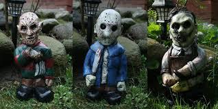 horror monster garden gnomes