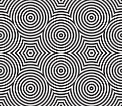 Textile Patterns Inspiration Black And White Psychedelic Circular Textile Patterns Seamless