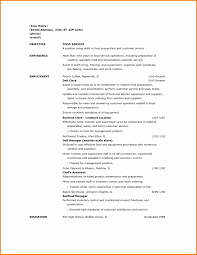 Resume Samples For Food Service Lovely Hospital Resume Examples