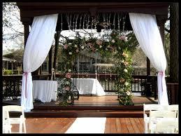 Curtains Wedding Decoration Gazebo Curtain Ideas