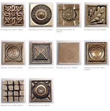 2X2 Decorative Tile Elegant 60X60 Decorative Tile Inserts bronze inserts decorative 2