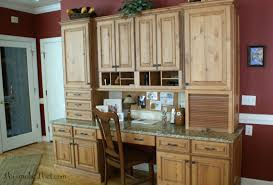 Kitchen Desk Area Tuscan Inspired Kitchen Remodel This Makes That