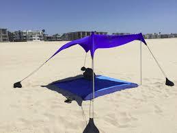Shadebrella Beach Sun Shade Canopy | Cabana | Beach Cabanas ...