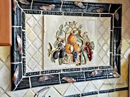 Hand Painted Tiles For Kitchen