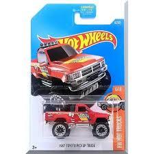 Hot Wheels - '87 Toyota Pickup Truck: HW Hot Trucks #6/10 - #82/365 ...