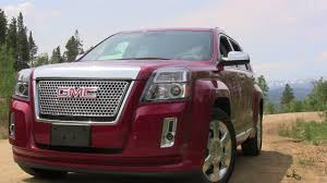 Review: 2013 GMC Terrain Denali - Some of Old and Some of New ...