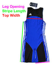 Adidas Weightlifting Singlet Sizing Guide Hookgrip Store
