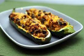 They store very well in the fridge or freezer and make a great take to work lunch too. Southwestern Stuffed Zucchini Boats Recipe Co Op Welcome To The Table