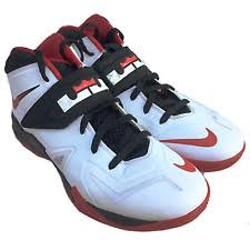 lebron shoes 12 green. nike zoom lebron soldier vii 7 599264-100 red white black basketball shoes 12 green