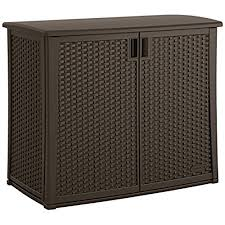 Suncast Elements Outdoor 40Inch Wide Cabinet