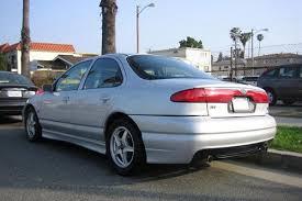 1998 2000 ford contour svt autopolis 1999 ford contour svt rear