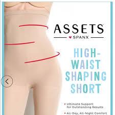 Assets Shapewear Size Chart