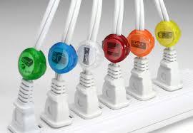 Circular cord labels & identifiers