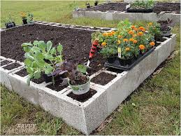 concrete block raised bed garden awesome 15 creative ways to use concrete blocks in your home