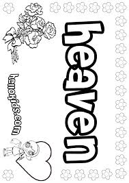Small Picture Heaven coloring pages Hellokidscom
