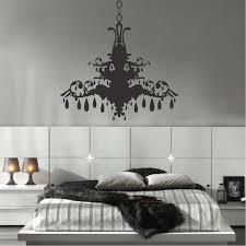 chandelier wall art sticker