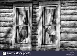 Cabin Windows log cabin windows stock photo royalty free image 68326337 alamy 3578 by uwakikaiketsu.us