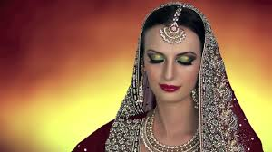 traditional indian bridal makeup tutorial red gold green asian stani arabic bengali wedding video dailymotion