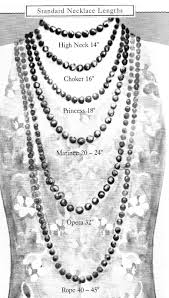 Tennis Chain Size Chart Necklace Length Guide For An Average Size 8 Woman Keep In