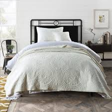100 cotton bedspreads. Contemporary Cotton Baroque Ivory 100 Cotton Coverlet Bedspread Set  King Single For 100 Bedspreads