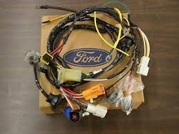 ford truck wiring harness nos oem ford 1987 1993 large truck wiring harness 600 900 1988 1989 1990 1991