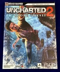 1 of 1 uncharted 2 among thieves bradygames paperback guide book ps3 ps4 walkthrough