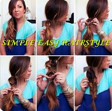 simple easy hairstyle 7