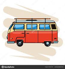 Camper Van Graphics Design Camper Van Icon Stock Vector Jemastock 233911810