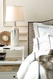 beautiful bedroomlove black white tan. classy and chic bedroom love the leopard headboard with hotel bed linens beautiful bedroomlove black white tan d
