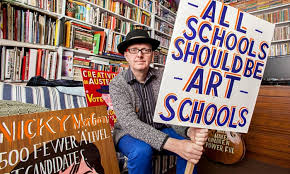 Bob and Roberta Smith: 'Soon there won't be any kids with estuary accents  in art schools' | Bob and Roberta Smith | The Guardian