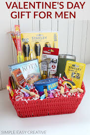 gift basket idea for men