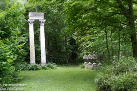 garden columns. Corinthian Columns Are Topped By Stylized Acanthus Leaves. A Nice Touch: The Real Thing Garden