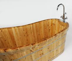 another wood bathtub so lovely for the home of alfi wooden bathtub