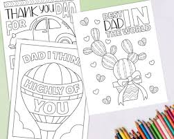 Make this dalmatians cartoons coloring page the best! Father S Day Coloring Pages Printable Coloring Pages For Etsy
