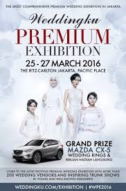 jakarta events ivory bridal Wedding Fair 2016 Jakarta ivory bridal collection event jakarta weddingku premium exhibition 25 27 march 2016 hotel ritz carlton wedding fair april 2016 jakarta