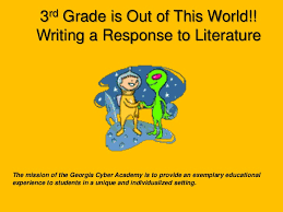 students literary analysis and thoughts can be presented data