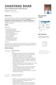Store Manager Resume Samples Visualcv Resume Samples Database
