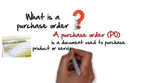 local purchasing order what is a purchase order 60 second explanation youtube