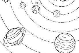 Disegni Sul Sistema Solare Da Stampare E Colorare