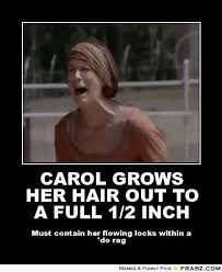 Carol's bountiful tresses | The Walking Dead | Pinterest | Hair ... via Relatably.com