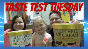 Taste Test Tuesday Blue Bell Bride And Groom Cake Icecream Youtube