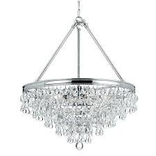 chandeliers teardrop chandelier crystal featuring glass measures diameter cm light replacement crystals