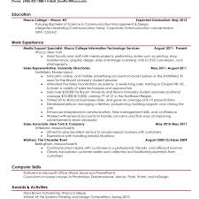 resume for college student with no experience resume template current college student examples sample graduate