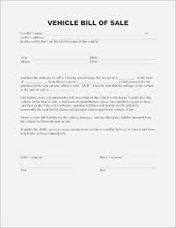Free Auto Bill Of Sale Template Top 43 Sweet Printable Bill Of Sale Form Kongdian