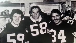 Andy Russell, Jack Ham, Jack Lambert, Steelers Linebacker 70's
