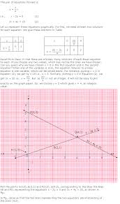 chapter 3 pairs of linear equations in two variables excercise ex 3 1 question 1