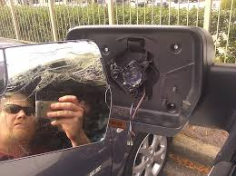 driver side mirror wa how bad is