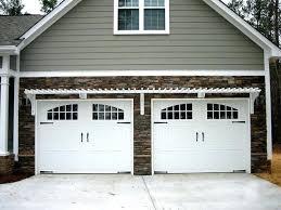 garage pergola kits garage pergola over carriage doors