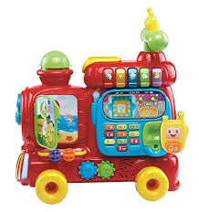 it as a traditional toy and it has multiple educational compartments including a storybook a clock gears and the 13 double sided alphabet blocks