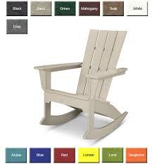 polywood adirondack rocking chairs.  Polywood In Polywood Adirondack Rocking Chairs D